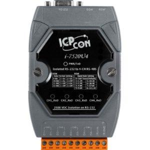 Convertor serial industrial bidirectional RS-232 la 4 porturi RS-485