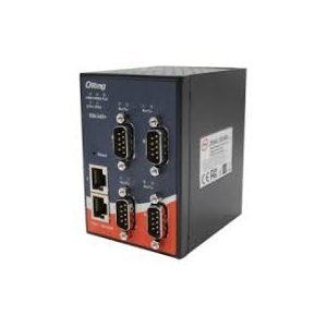 Server serial de la 4 porturi RS-232/422/485 la 2 porturi Ethernet