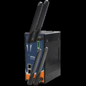 Access Point / Bridge / Repeater / AP-Client wireless industrial IEEE 802.11 a/b/g/n cu 2 frecvente simultane (Dual RF) si 2 porturi Gigabit Ethernet