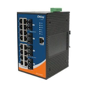Switch industrial cu management cu 20 porturi- 16 Gigabit Ethernet si 4 fibra optica Gigabit