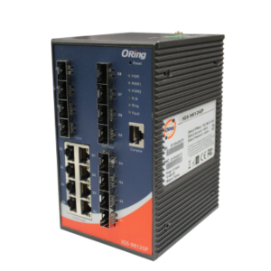 Switch industrial cu management cu 20 porturi- 8 Gigabit Ethernet si 12 sloturi SFP Gigabit