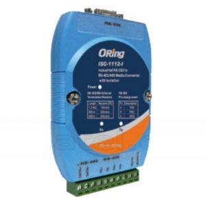 Convertor serial industrial bidirectional RS-232 la RS-422/485 cu izolatie optica 3kV
