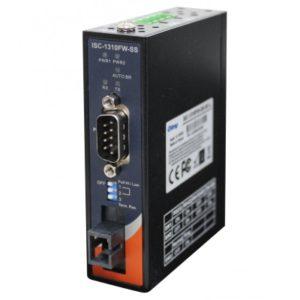 Server serial de la 1 port RS-232/422/485 la 1 port fibra optica