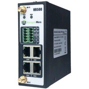Router industrial cu VPN 2 sau 4 porturi Ethernet WiFi 2 porturi seriale DI/DO Modbus si MQTT