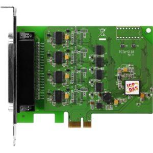 Placa seriala multiport cu 8 porturi RS-232 si interfata PCI Express