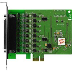 Placa seriala multiport cu 8 porturi RS-422/485 si interfata PCI Express