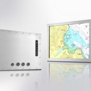 """Monitor industrial stainless, dimensiuni 5 pana la 85"""", cu sau fara Touch, cu carcasa completa"""