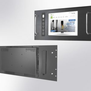 "Monitor industrial standard, dimensiuni 7 pana la 27"", cu sau fara Touch, montaj in rack"