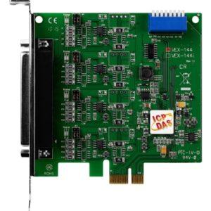 Placa seriala multiport cu 4 porturi RS-422/485 si interfata PCI Express