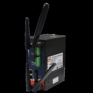 Router celular industrial 4G (LTE) cu 2 SIM-uri cu VPN cu 2 porturi Gigabit Ethernet si WiFi IEEE 802.11 a/b/g/n