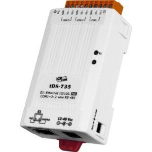 Server serial de la 3 porturi RS-485 la Ethernet cu PoE