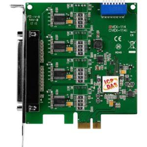 Placa seriala multiport cu 4 porturi RS-232 si interfata PCI Express