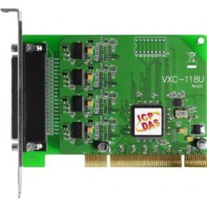 Placa seriala multiport cu 8 porturi RS-232 si interfata Universal PCI