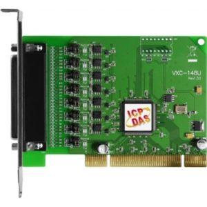 Placa seriala multiport cu 8 porturi RS-422/485 si interfata Universal PCI